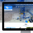 Website Design for Road Machine Building Plant by Zwebra