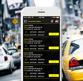 Taxi Mobile App Development for IOS and Android