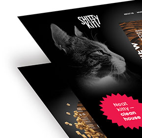 Website Design for Cat Litter Manufacturer by Zwebra