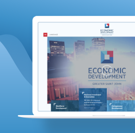 Laravel Website for the Economic Development Agency
