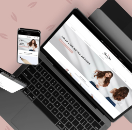 E-commerce Website for Hair Extensions Supplier