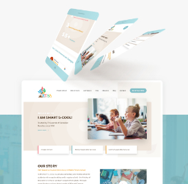 Web Design for Private Elementary & Middle School
